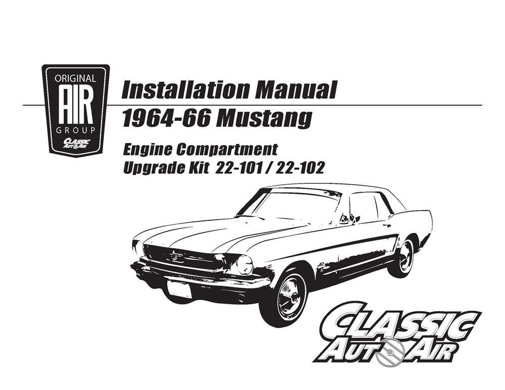 65 ford  mercury a  c performance upgrade kit 260  289 v8