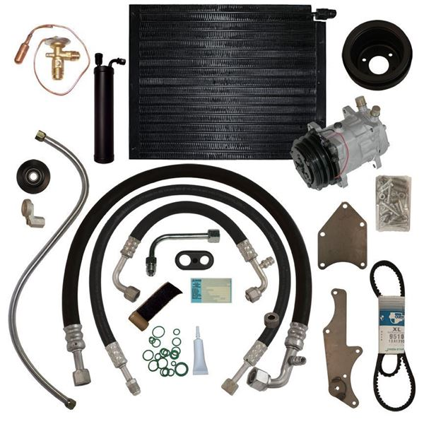 65 Ford/Mercury A/C Upgrade Kit 260/289 STAGE-2 w/Mount Kit
