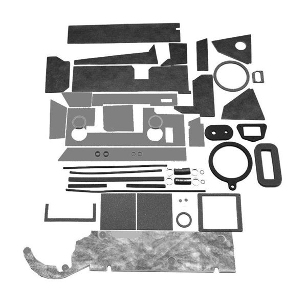 66-70 Mopar B-Body A/C Box Basic Seal Kit