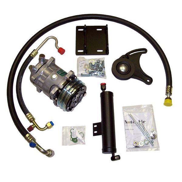 EARLY 67* Mustang/Cougar A/C Compressor Kit V8 STAGE-1