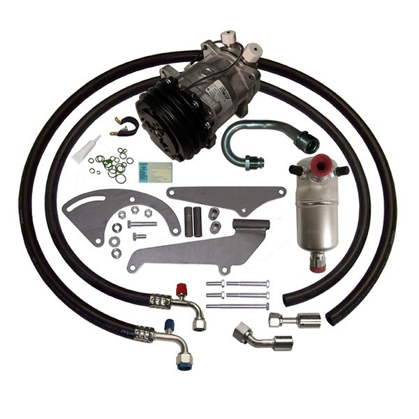 73-76 Chevy/GMC Truck A/C Compressor Upgrade Kit V8 STAGE-1