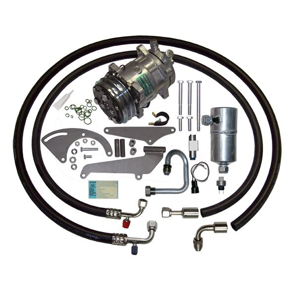74-76 Chevelle A/C Compressor Upgrade Kit V8 STAGE-1 134a