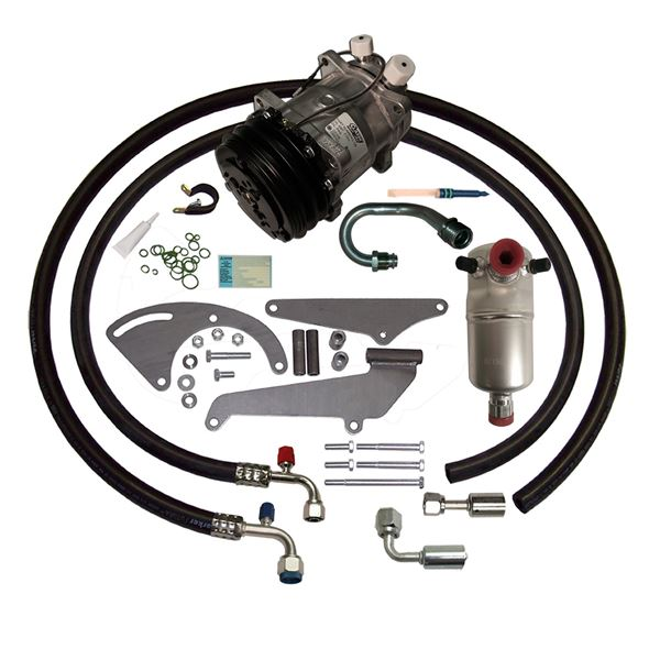 77-80 Chevy/GMC Truck A/C Compressor Upgrade Kit V8 STAGE-1