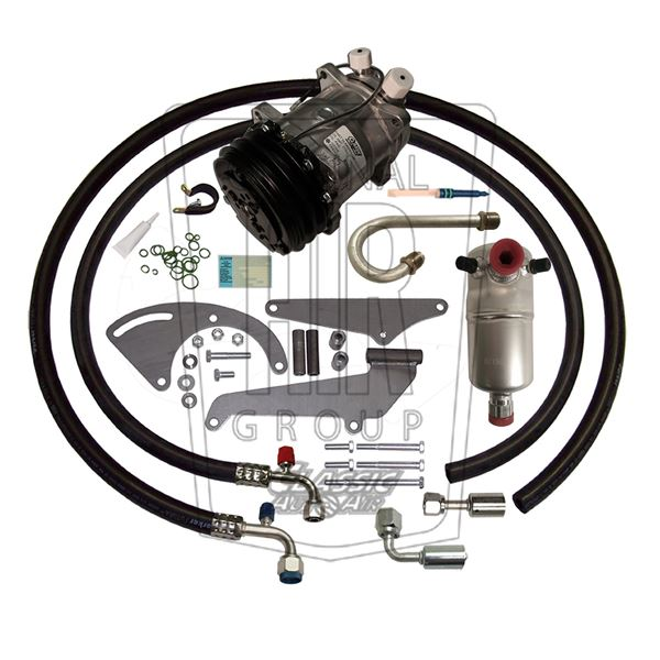 77-81 Chevy Impala A/C Compressor Performance Upgrade Kit V8 STAGE-1