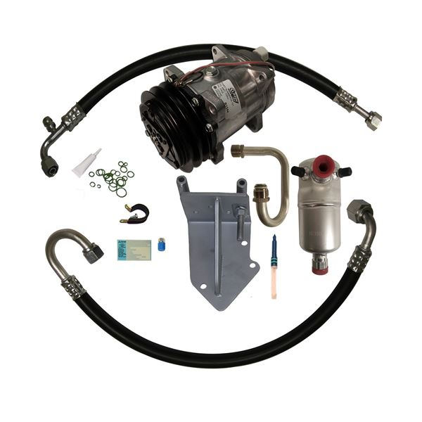 77-81 Firebird A/C Compressor Upgrade Kit STAGE-1 Pontiac or Olds V8 (Exc. Turbo)
