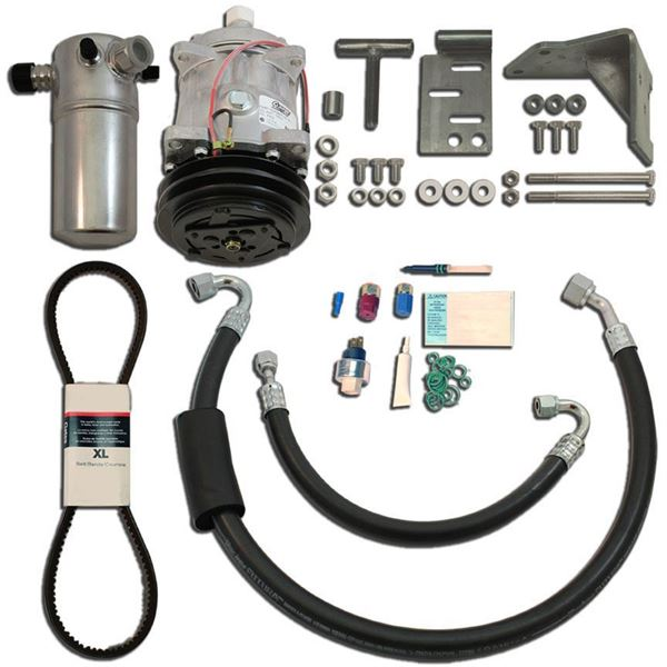 81-88 GM A & G-Body A/C Upgrade Kit w/CHEVY V8 STAGE-1