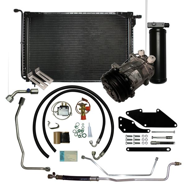 71 Charger/70-71 Barracuda A/C Performance Upgrade Kit Small Block STAGE-2