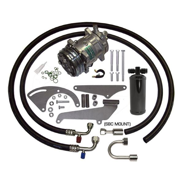 69-70 Chevy Impala A/C Compressor Performance Upgrade Kit V8 STAGE-1
