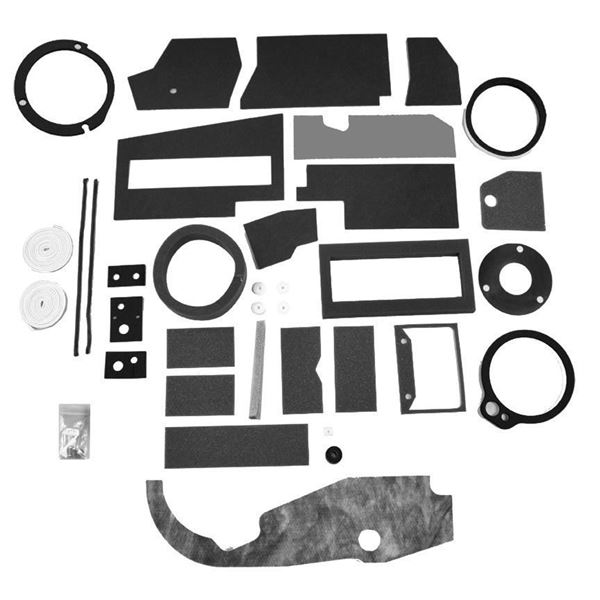 67-72 Mopar A-Body A/C Box Basic Seal Kit