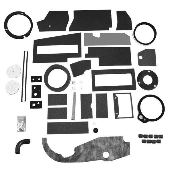 67-72 Mopar A-Body A/C Box Deluxe Seal Kit