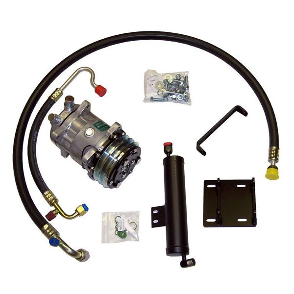 LATE 67-68 Mustang/Cougar A/C Compressor Kit V8 STAGE-1