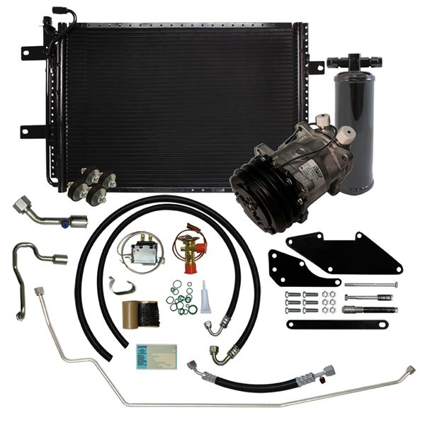 66-69 Charger/Satellite A/C Performance Upgrade Kit Small Block STAGE-2
