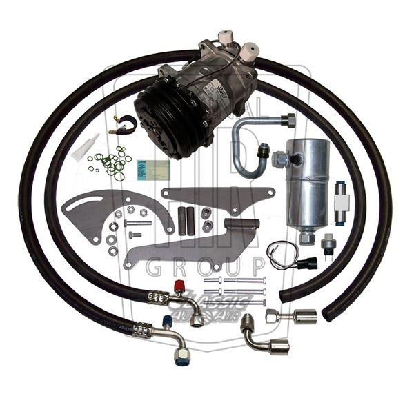 Late 74-76 Nova A/C Compressor Performance Upgrade Kit V8 STAGE-1 134a