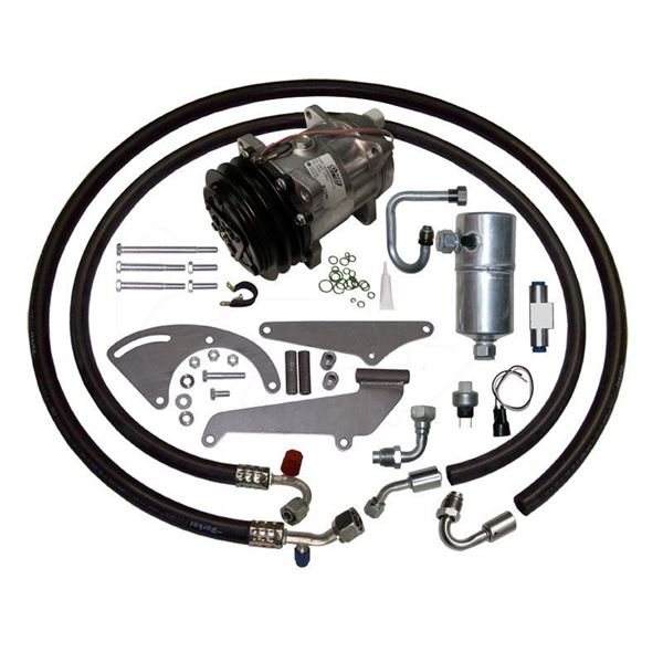 73-Early 77 Corvette A/C Compressor Performance Upgrade Kit V8 STAGE-1 134a