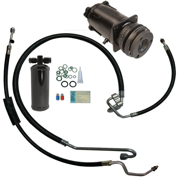 70-72 Chevelle A/C Compressor Replacement Parts Kit V8 STAGE-1 (Exc. 1970 with BBC)