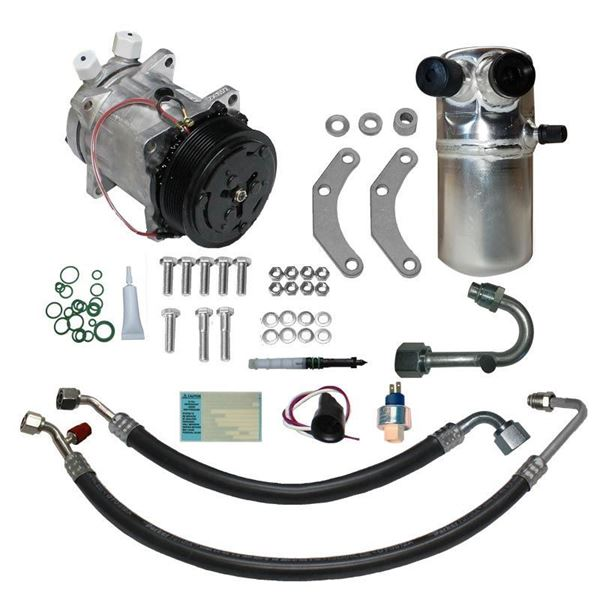 88-90* Chevy/GMC Truck A/C Compressor Upgrade Kit V8 STAGE-1