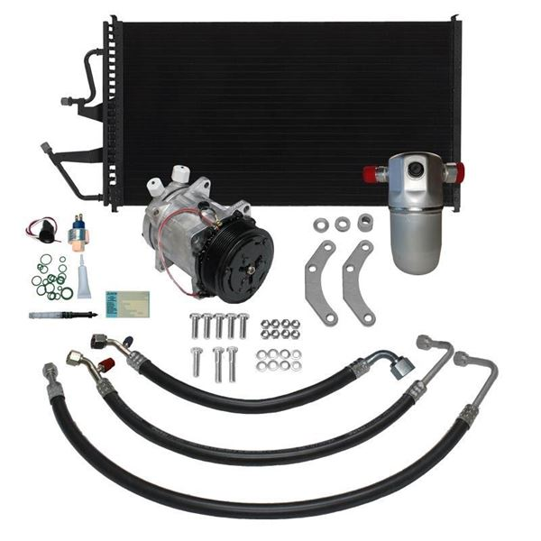 91-93 Chevy Truck A/C Performance Upgrade Kit V8 STAGE-2