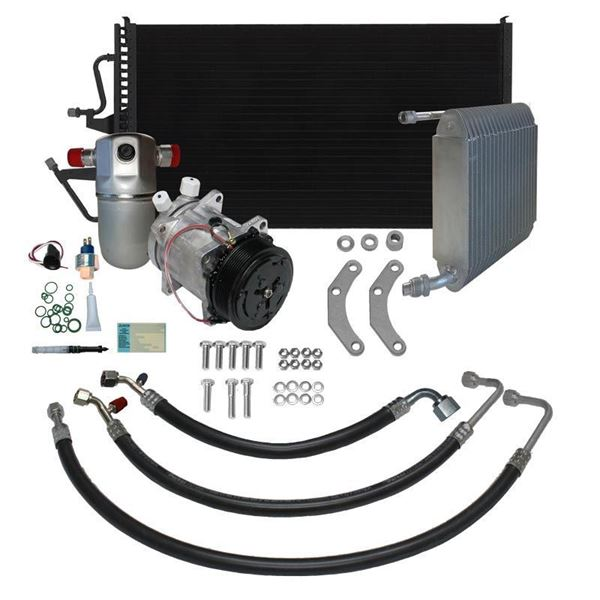 91-93 Chevy Truck A/C Performance Upgrade Kit V8 STAGE-3
