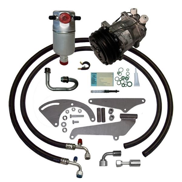 81-84 Chevy/GMC Truck A/C Compressor Upgrade Kit V8 STAGE-1