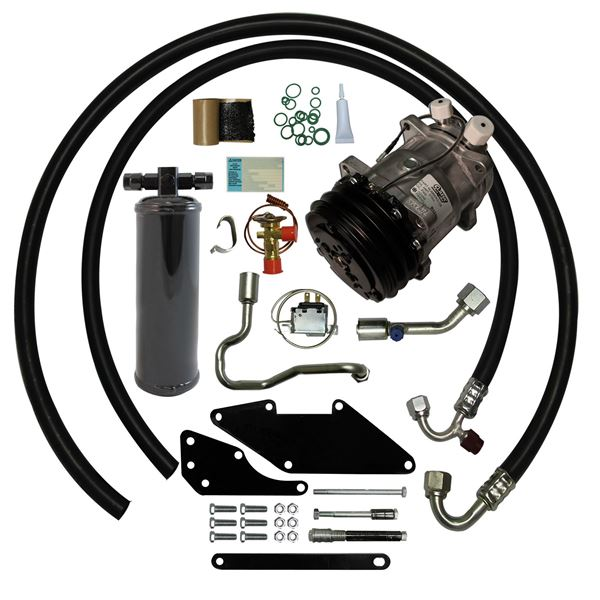 66-69 Charger/Satellite Small Block A/C Upgrade Kit STAGE-1