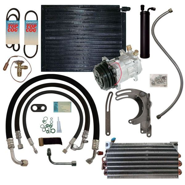 64-65 Ford/Mercury A/C Performance Upgrade Kit 6 Cyl. STAGE-3