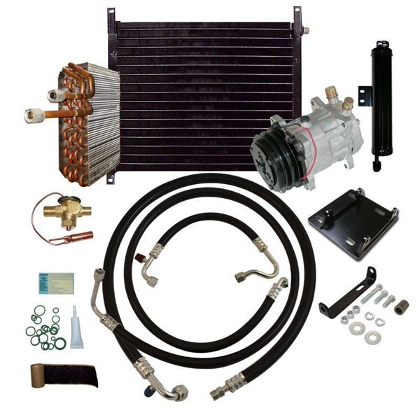 69-70 Mustang/Cougar A/C Performance Upgrade Kit V8 STAGE-3