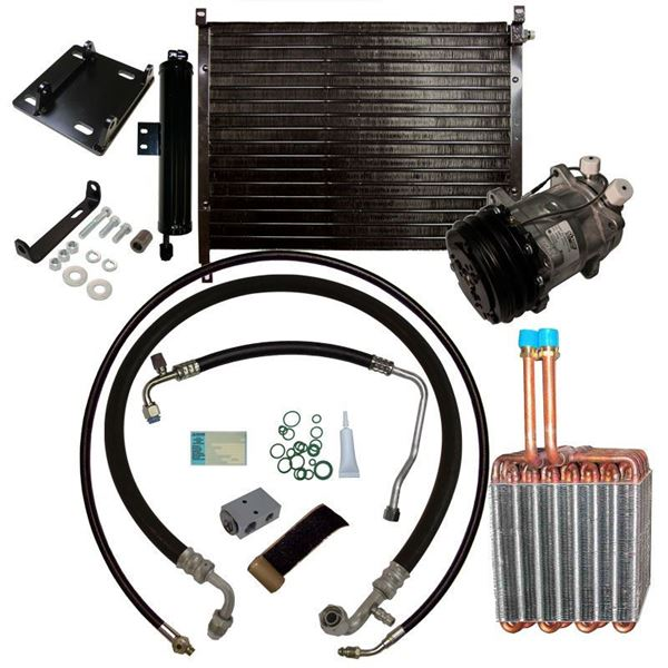 71-73 Mustang/Cougar A/C Performance Upgrade Kit V8 STAGE-3