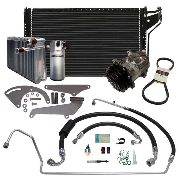 78-80 GM A-Body A/C Performance Upgrade Kit w/CHEVY V8 STAGE-3