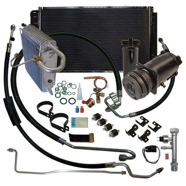 70-72 Chevelle A/C Replacement Parts Kit V8 STAGE-3 (Exc. 1970 with Big-Block)