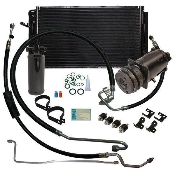 70-72 Monte Carlo A/C Replacement Parts Kit V8 STAGE-2 (Exc. 1970 with BBC)