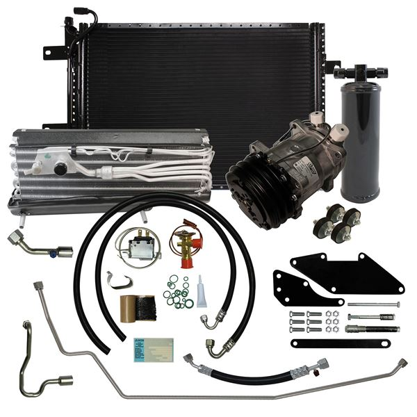 66-69 Charger/Satellite A/C Performance Upgrade Kit Small Block STAGE-3