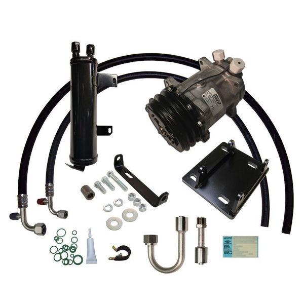 72-76 Torino/74-79 Cougar/77-79 Thunderbird A/C Compressor Upgrade Kit V8 STAGE-1