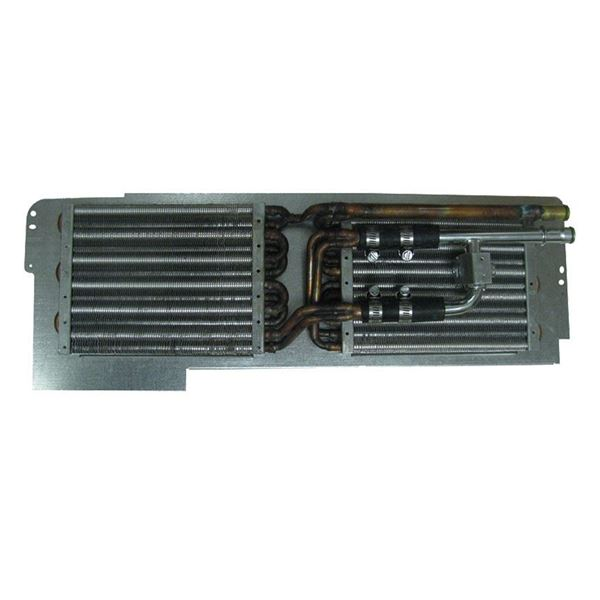 "66-70 Mopar B-Body/65-68 C-Body Dual Heater Coil & ""h"" Bypass Valve Assembly w/AC"