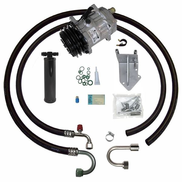 68-72 Pontiac A/C Compressor Performance Upgrade Kit V8 STAGE-1
