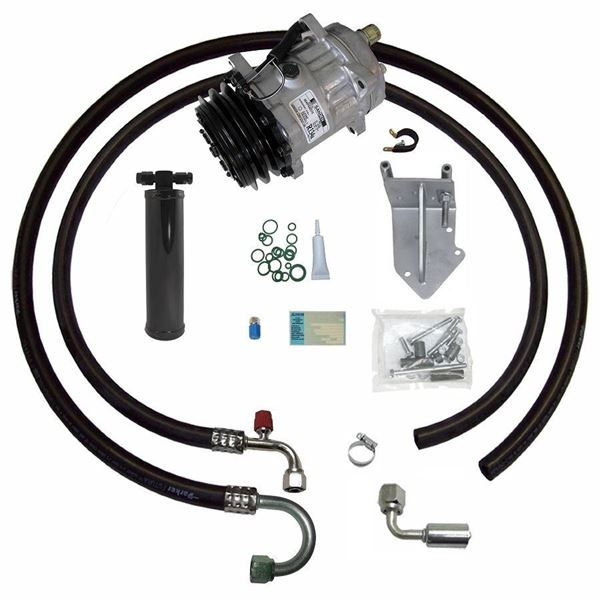 66-67 GTO/Lemans  A/C Compressor Performance Upgrade Kit V8 STAGE-1