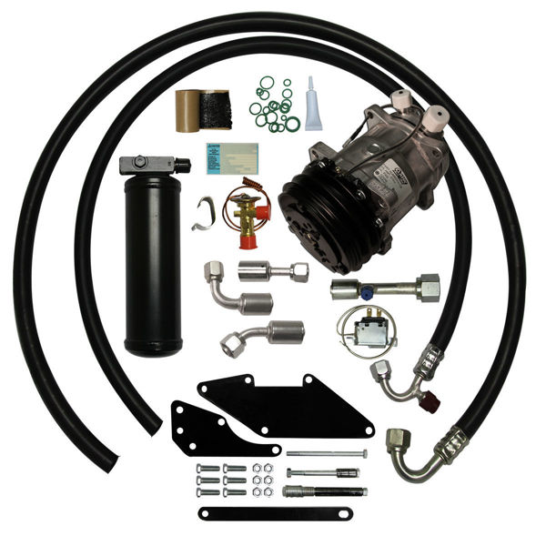 72-78 Dodge D/W Series Truck Small Block A/C Upgrade Kit STAGE-1