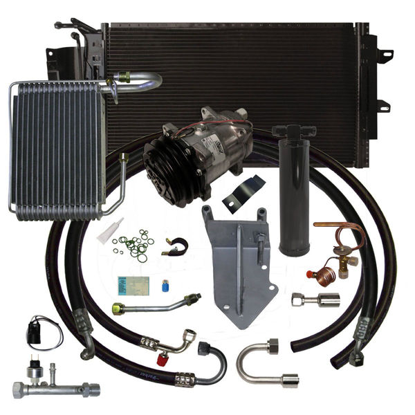 68-72 GTO/Lemans/Grand Prix A/C System Upgrade Kit V8 STAGE-3