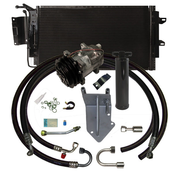 68-72 Pontiac A/C Performance Upgrade Kit V8 STAGE-2