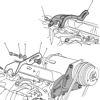 69-70 Chevy SB 1st Design Factory Compressor Mount Set