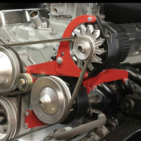 Chevrolet SB Short Water Pump Power Steering and Alternator Mount