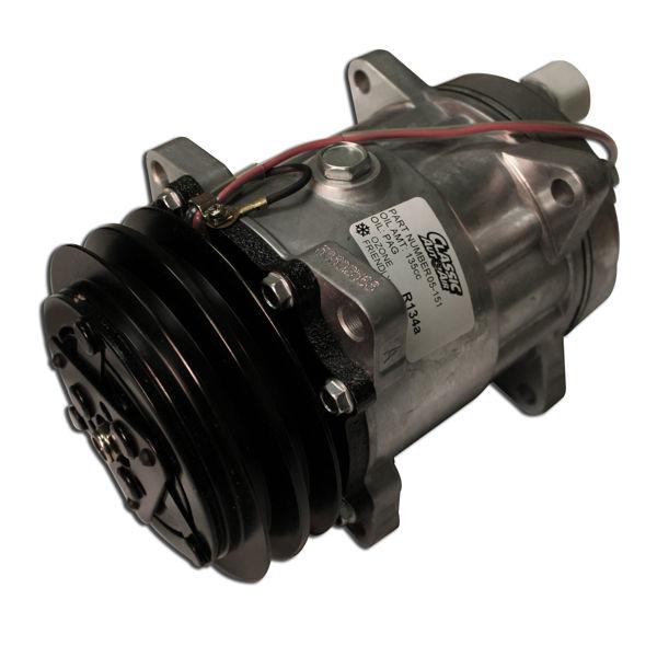 SD7 Rotary Rear Port Compressor 134a - V Belt