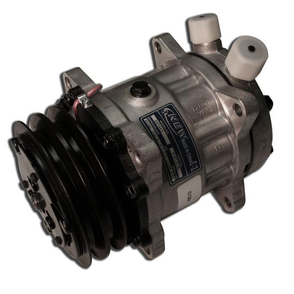"""SD5 Rotary """"Shortie"""" Top Port Compressor 134a - V Belt"""